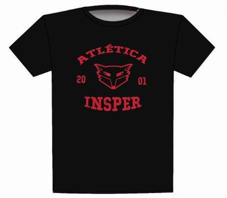 Camiseta Atlética Preta