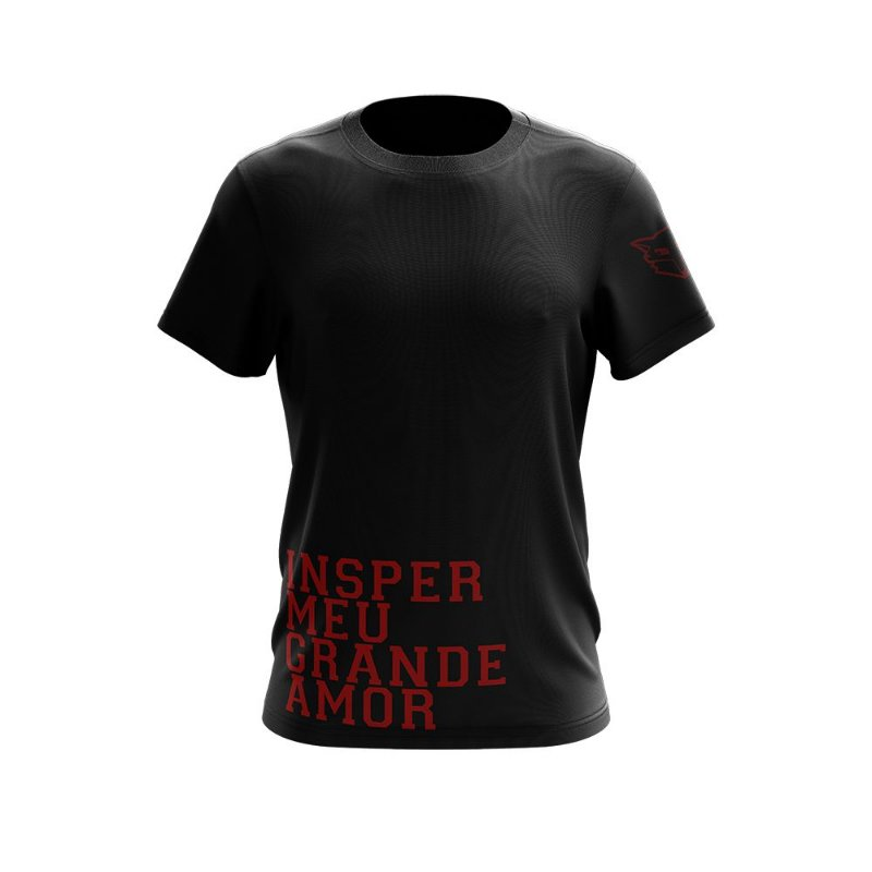 Camiseta *LONG FIT* Insper Meu Grande Amor - UNISSEX