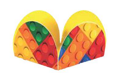 FORMINHAS PARA DOCES LEGO (50 UNIDADES)
