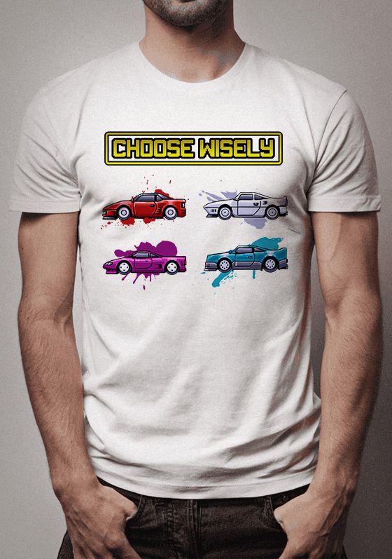 3c4608969eb Camiseta Top Gear Choose Wisely - Sentido Geek Store