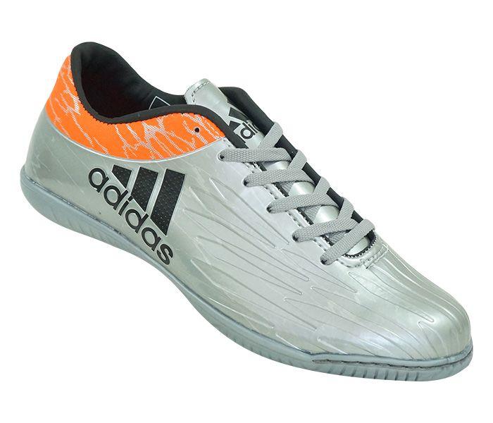 Chuteira Futsal Adidas X 16.1 Prata e Laranja. Chuteira Futsal Adidas X  16.1 Prata e Laranja - Imagem ... 93ee993ff7aa4