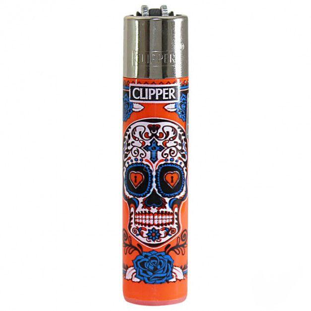 Clipper | Isqueiro Coleção Caveira Mexicana - Recarregável