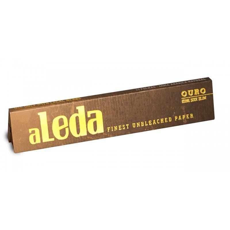 Aleda | Seda King Size Ouro Unbleached