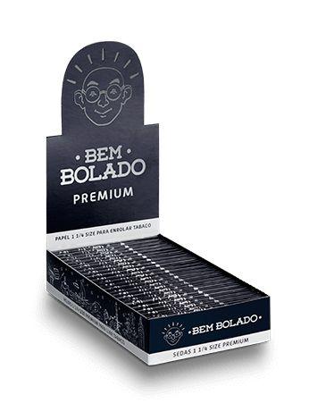 Bem Bolado | Caixa de Seda 1 1/4 Premium - 25un