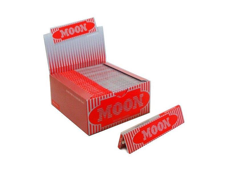 Moon | Caixa de Seda King Size Red