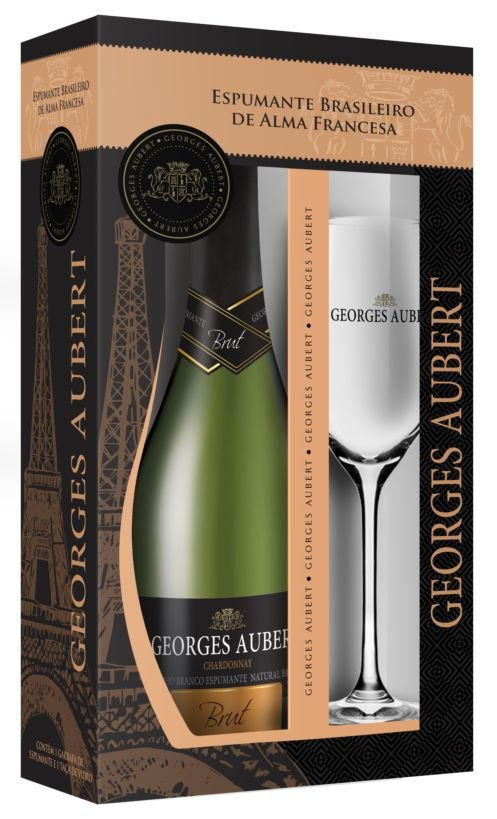 KIt Georges Aubert Brut com Taça
