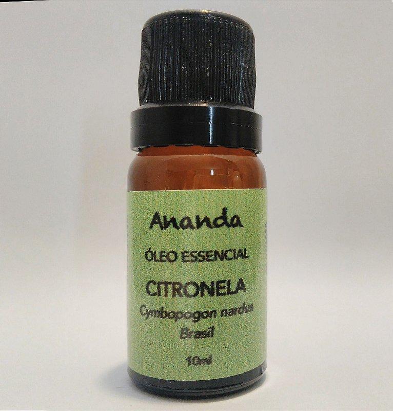 Óleo Essencial de Citronela orgânico 10ml