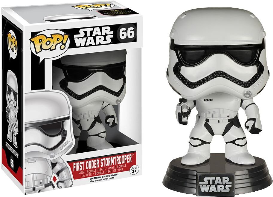 Star Wars VII - First Order Stormtrooper - Pop Funko - Vinyl