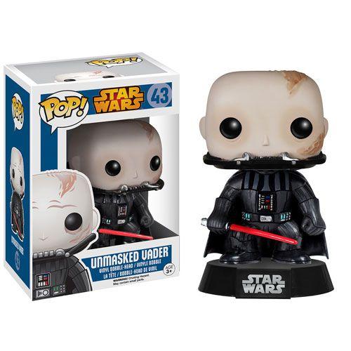 Star Wars - Darth Vader Unnmasked - Pop Funko - Vinyl
