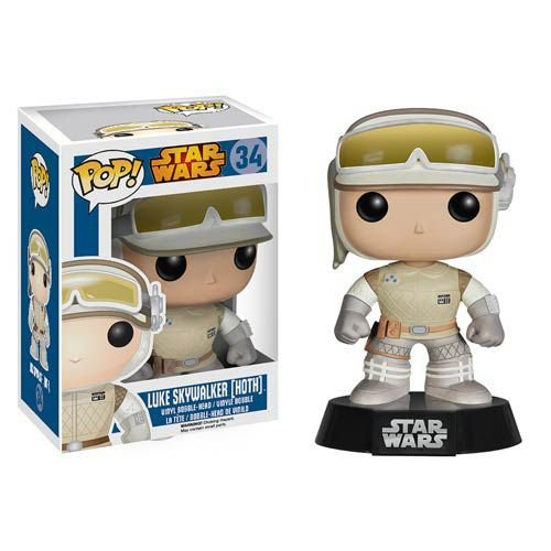 Star Wars - Luke Skywalker (Hoth) - Pop Funko - Vinyl