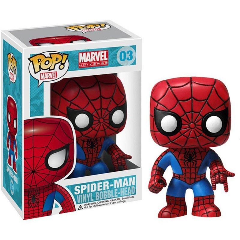 Marvel Universe - SPIDER-MAN - Pop Marvel - Funko Vinyl