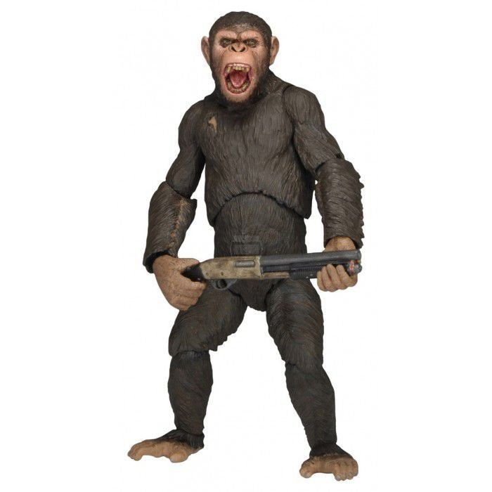 Caesar - Dawn Planet Of The Apes - Neca - Planeta dos Macacos