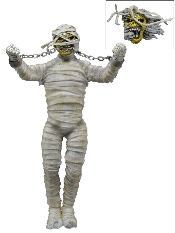 Iron Maiden - Mummy Eddie - Clothed Figure - Neca