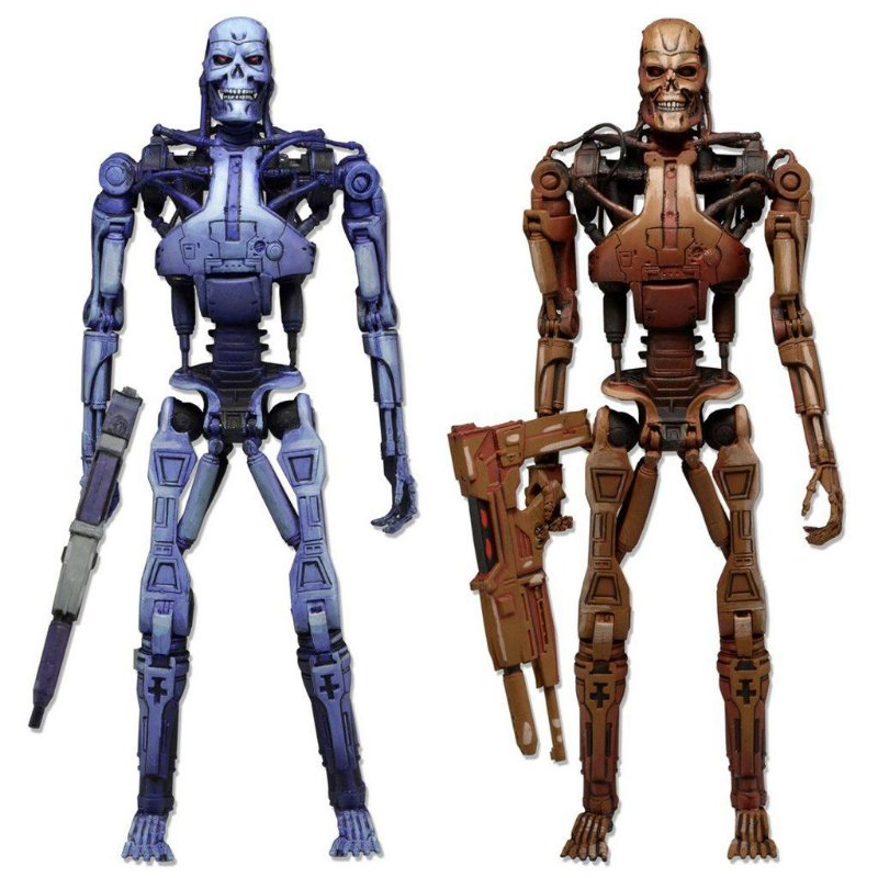 Endoskeleton Assault 2 - Pack Robocop Vs Terminator - Neca
