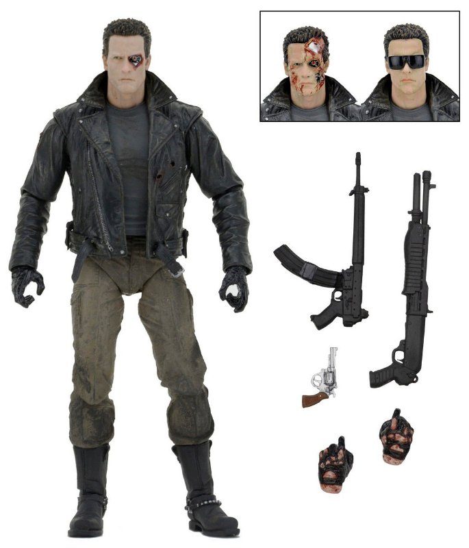 T-800 Ultimate Police Station Assault - The Terminator 1984 - Neca