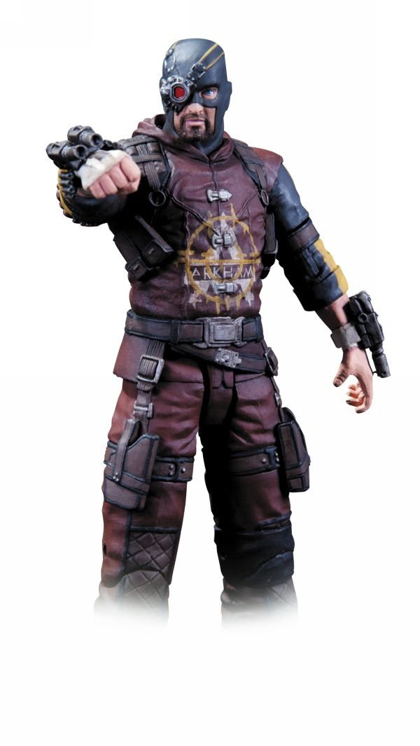DeadShot (Arkham City) S4 - Dc Collectibles - Dc Comics