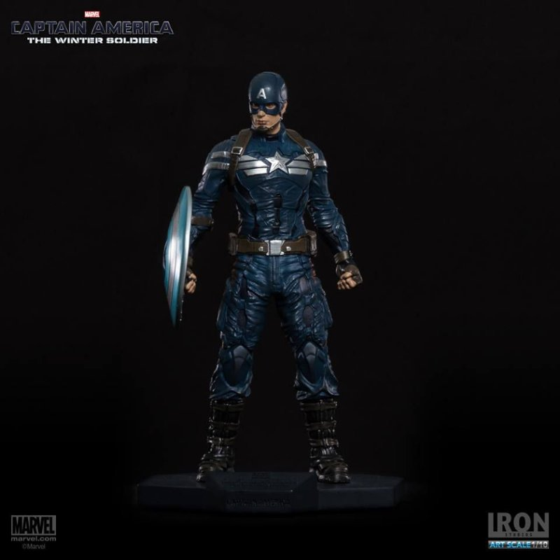 Captain America ( The Winter Soldier ) - 1/10 Art Scale - Iron Studios