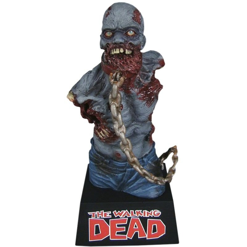Walking Dead Michonne's Pet Zombie #2 Vinyl Bust Bank - Cofre Colecionável
