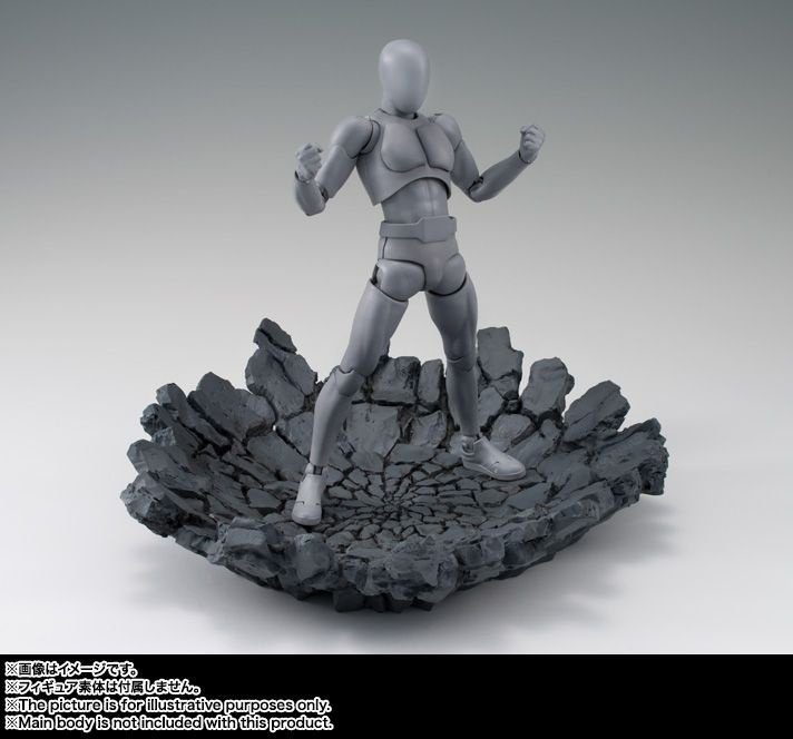 Tamashii Effect Impact Gray - Display