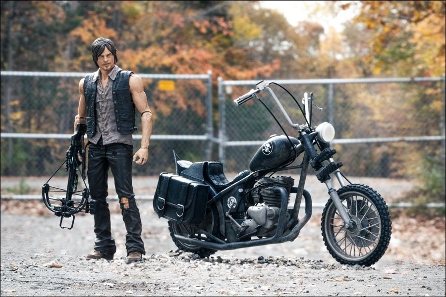Walking Dead Daryl Dixon And Chopper