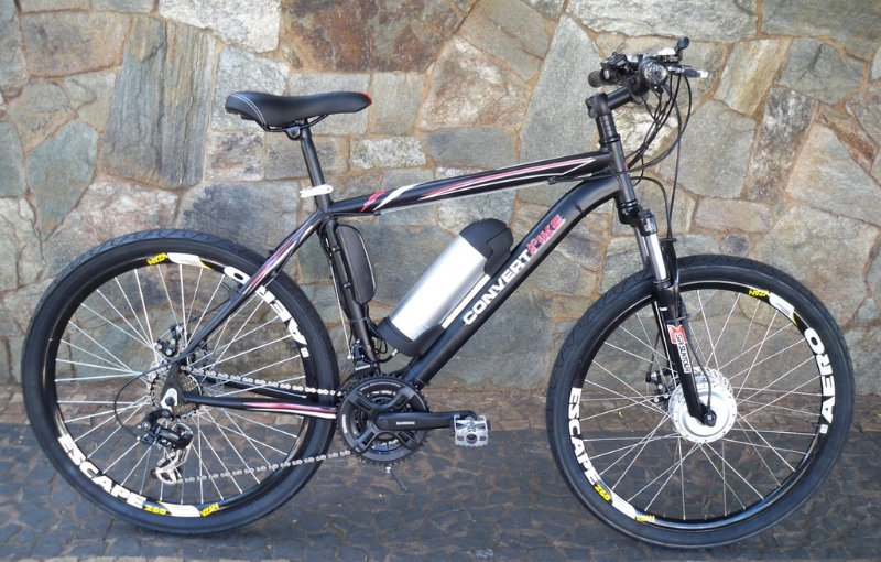 Bicicleta Elétrica Aro 26 Viper  Bateria Cilíndrica 36V/350W.-
