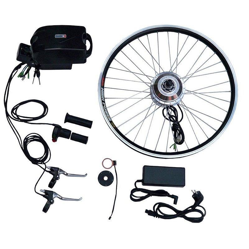 Kit Bicicleta Elétrica Bateria Lítio (Frog) 36V/350W.- MODELO 2