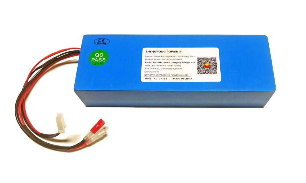Bateria de Lítio 36V 9Ah para Bicicleta Elétrica MYL BIke