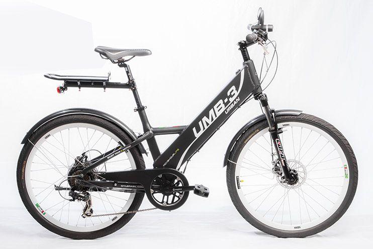 Bicicleta Elétrica Move Your Life Urban - 36V 250W - Grafite Brilhante