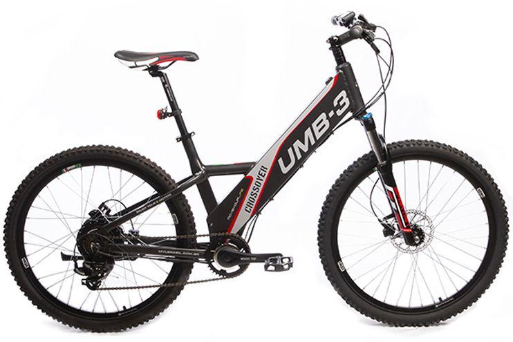 Bicicleta Elétrica Move Your Life Crossover - 36V 350W - Grafite Brilhante
