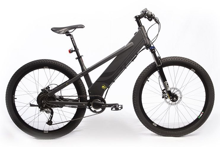 Bicicleta Elétrica Move Your Life Extreme - 36V 350W - Grafite Fosco