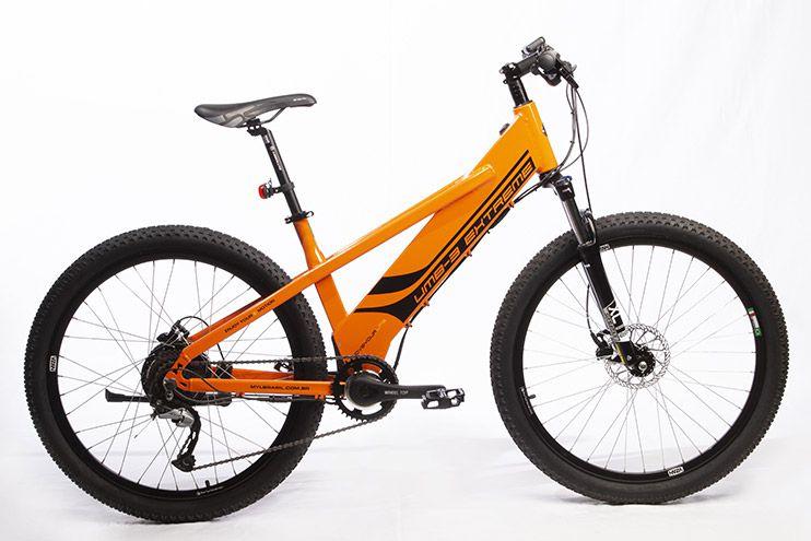 Bicicleta Elétrica Move Your Life Extreme - 36V 350W - Laranja brilhante