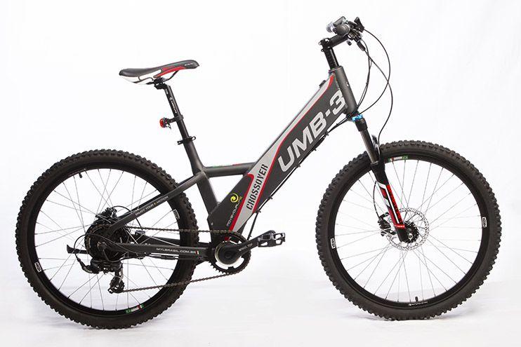 Bicicleta Elétrica Move Your Life Crossover - 36V 350W - Grafite Fosco