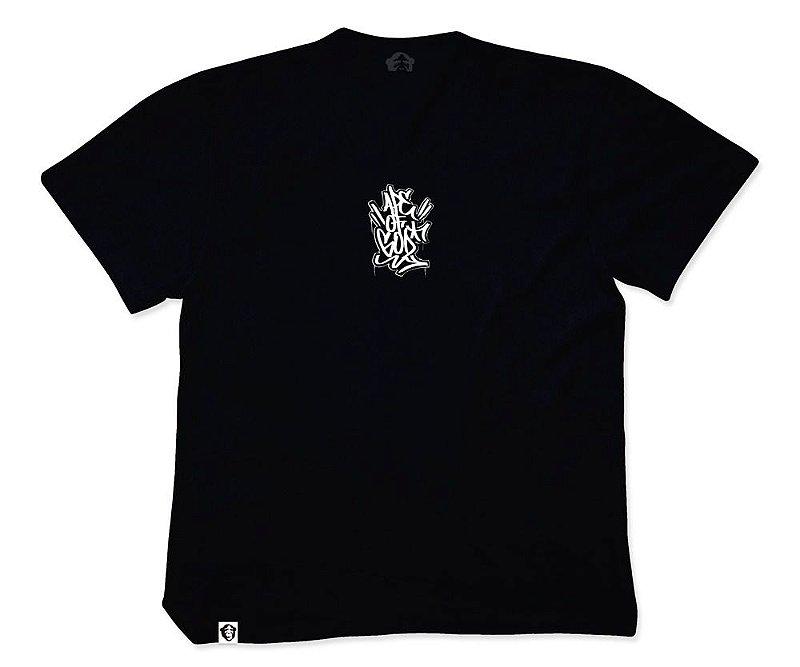 Camiseta APE of GOD x Ink Art Tattoo Tag P Preta