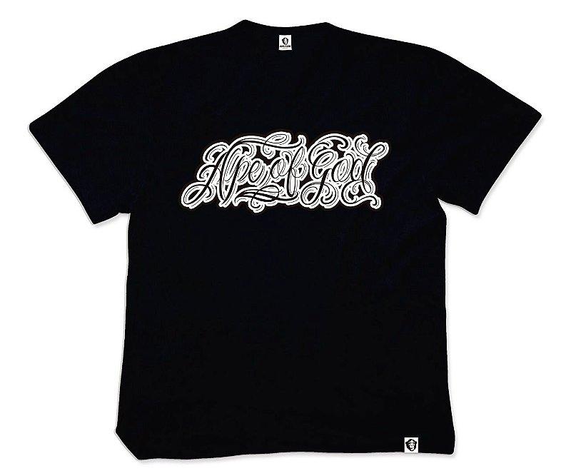 Camiseta APE of GOD vs Pecs Ink Tatoo preta