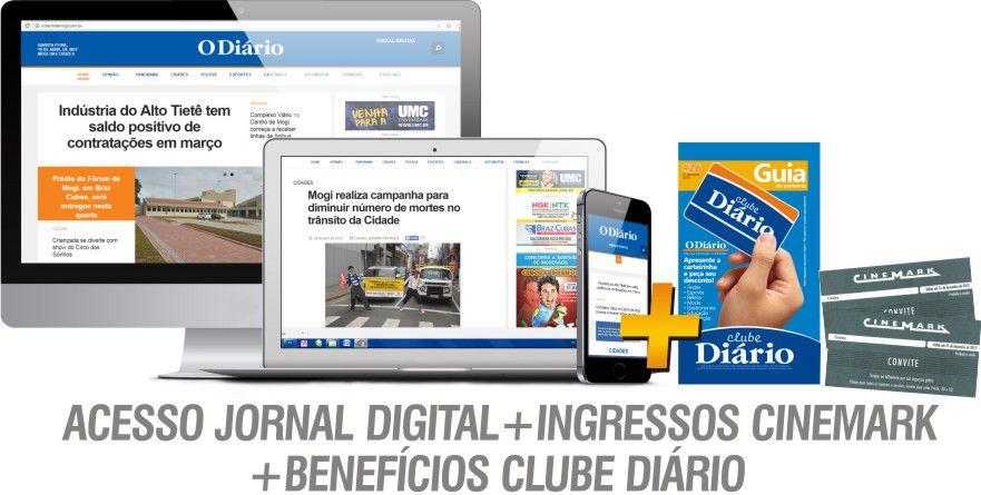 JORNAL DIGITAL + INGRESSOS CINEMARK + BENEFÍCIOS CLUBE DIÁRIO