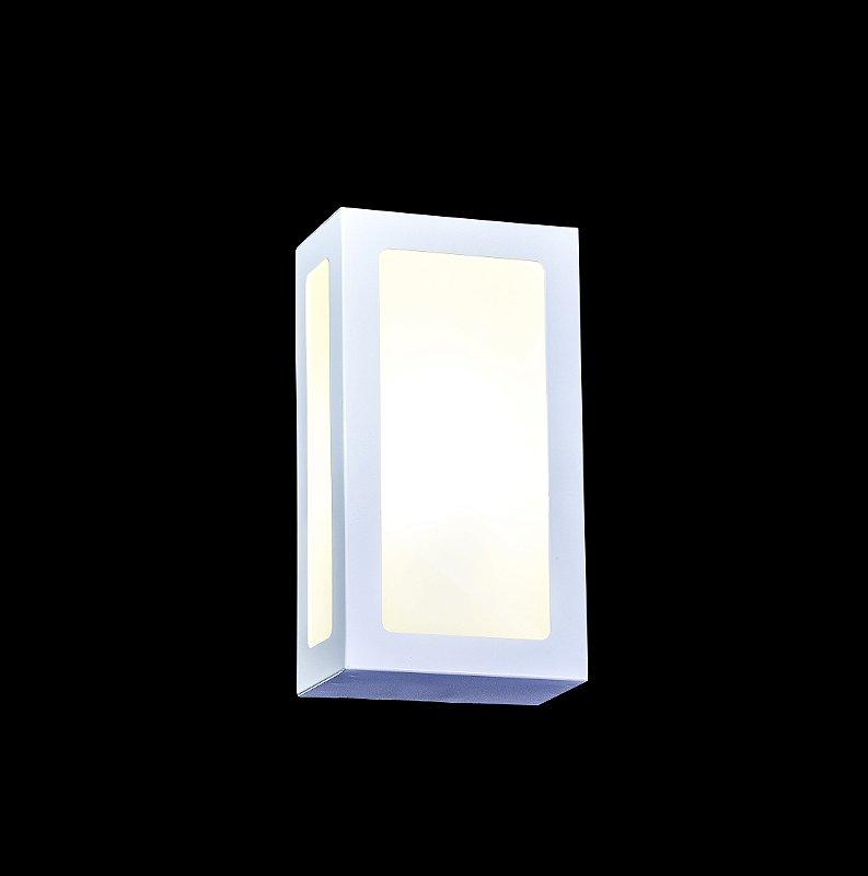 Arandela 3 vidros - Alumínio EL02