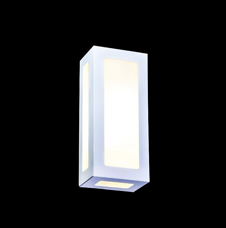 arandela externa 5 vidros 2 lâmpadas