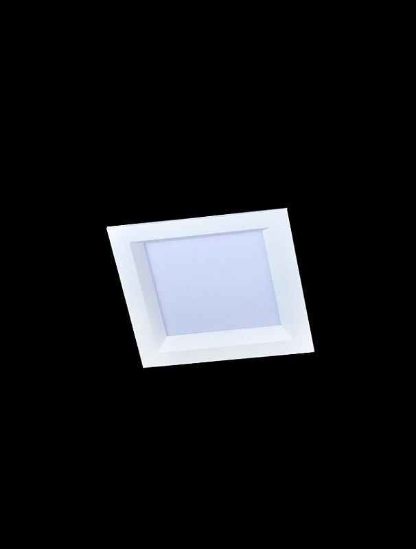 Embutido Quadrado 1 lâmpada
