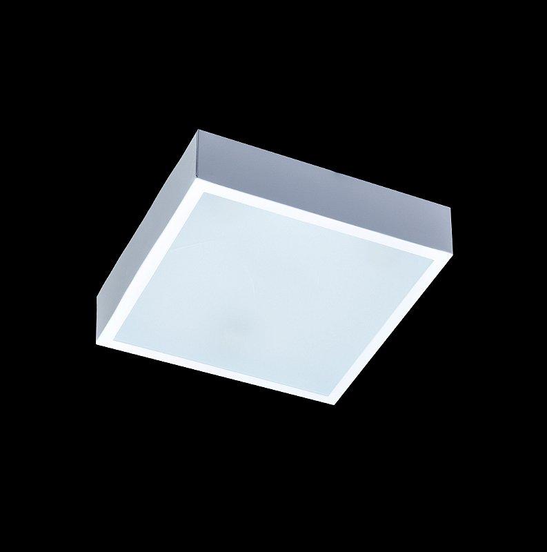Sobrepor Quadrado 3 lâmpadas