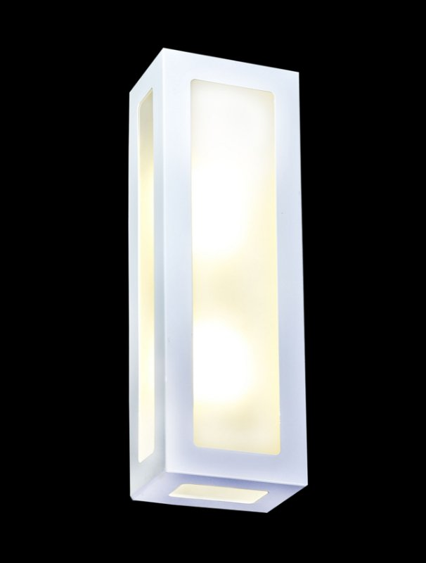 EL 05 arandela externa 5 vidros 2 lâmpadas