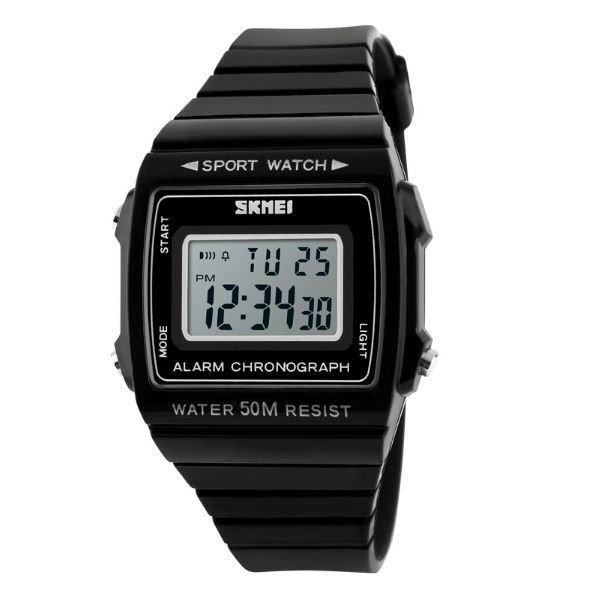 69a11cb37ce Relógio Feminino Skmei Digital 1136 PT - ShopSublime - Aqui tem o ...