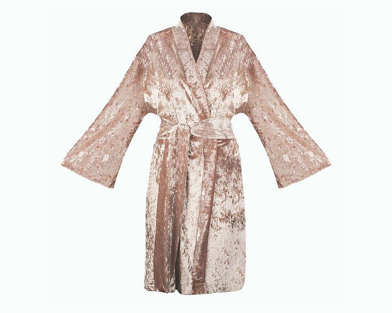Robe de Veludo Velvet Rosé