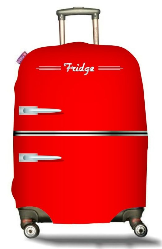 CAPA DE MALA | Red Fridge