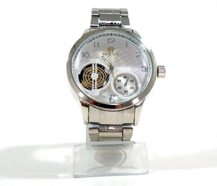 f23dd6ad439 Relógio Rolex Prata - Marca  Rolex Modelo  52067 B- 1ª LINHA ...