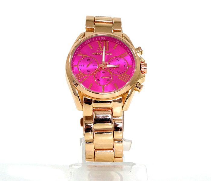 Relógio Feminino Michael Kors Dourado - Modelo  52046 - 1ª LINHA ... b4a31dbc2c