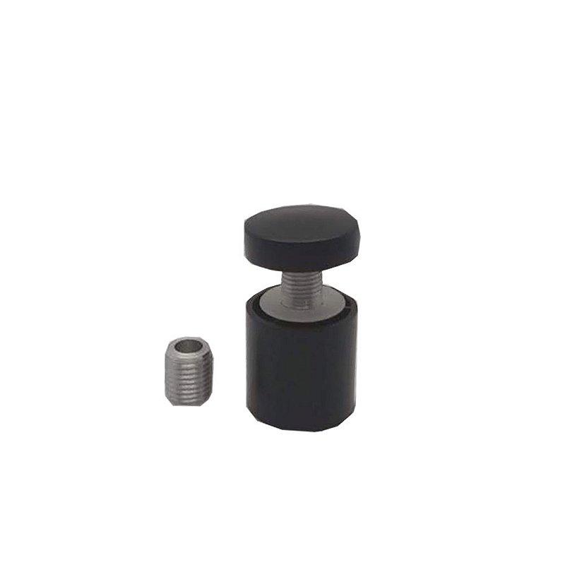 Prolongador / Fixador preto para Lousa de Vidro
