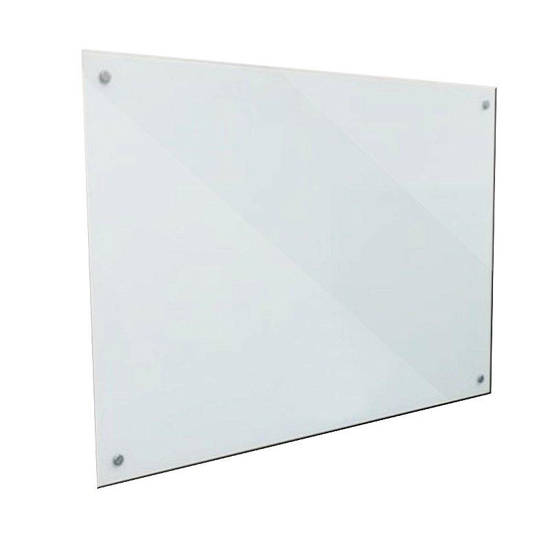 Lousa de Vidro Branca 80x50