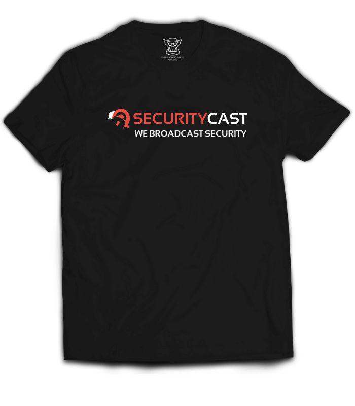 Camiseta produzida exclusivamente para o Grupo Oficial SecurityCast  em parceria vendida em nossa loja. Nessa parceria cada camiseta vendida o Grupo tem sua porcentagem garantida.