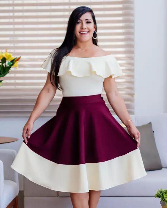 d99b4b7dba Blusa Débora Ciganinha Branca - Moda Evangélica - Flor de Amêndoa