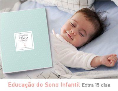 Educação do Sono Infantil Extra com acompanhamento por mais 15 dias (só pode ser contratado por cliente ativo).